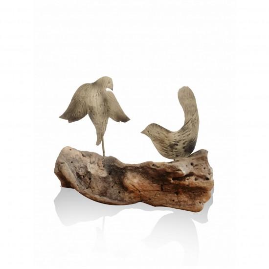 Sea wood - bird