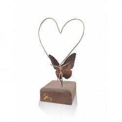 Desk card case with theme - Angel Heart
