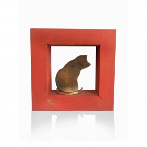 Wall frame with theme - cat Handmade decorations