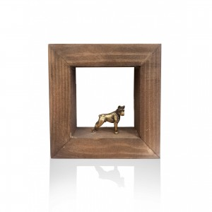 Wall frame with theme - dog Handmade decorations
