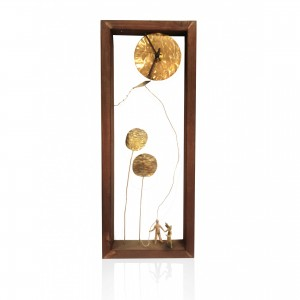 Wooden wall frame with theme - the kite