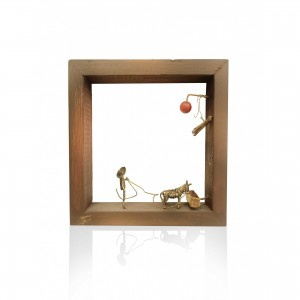 """Collective wall frame """"farmer of another era"""" artistic creations"""