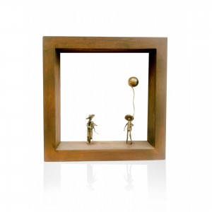 Wall frame with theme - erotic Handmade decorations