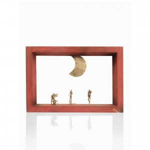 Wall frame with theme - music Handmade decorations