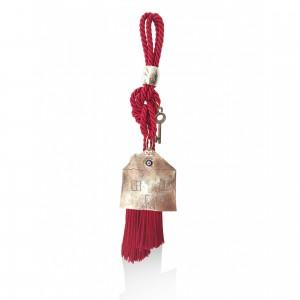 Christmas charms _ big tassel _ house _ key Christmas presents
