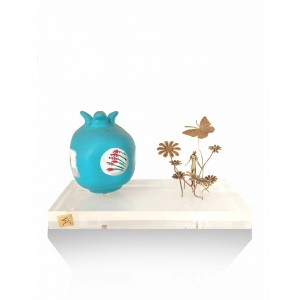 Ceramic pomegranate theme - in the garden. Gifts