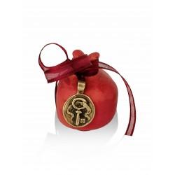 Ceramic pomegranate - key