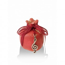 Ceramic pomegranate - musical key
