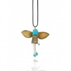 Turquoise bee