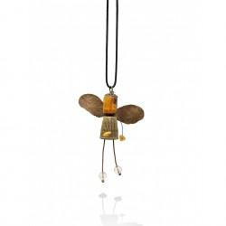 Bee - amber