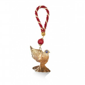 Christmas ornament - emerging dove Charm