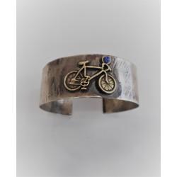 Alpaca bracelet - bicycle
