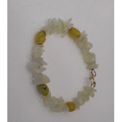 """""""Nephrite"""" brass bracelet"""