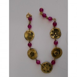 Brass bracelet elements N2