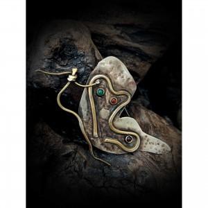 """Alpaca Brooch """"Butterfly"""" jewelry"""