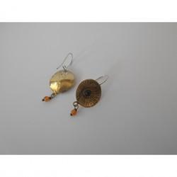 Curved - earrings