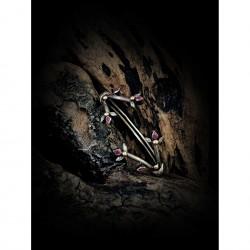Cyclamen bracelet