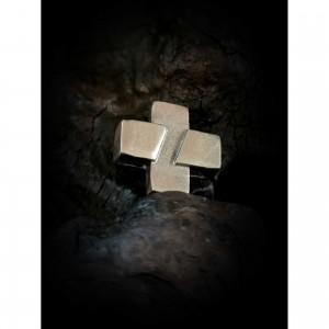 "Silver square"" cross"" jewelry"