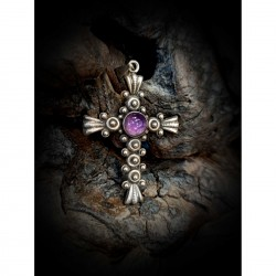 Cross - amethyst