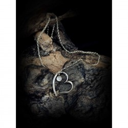 Necklace - Heart chain