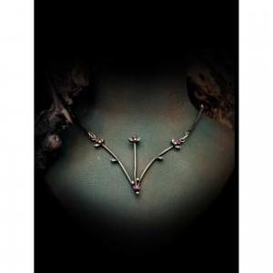 Cyclamen women's necklace jewelry