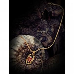 "Women's ""Scarab"" necklace jewelry"