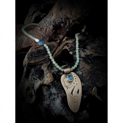 Chalcedony necklace