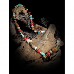 Colored stones - necklace