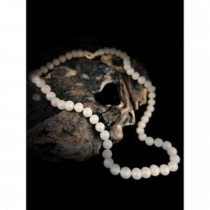"""Women's necklace """"pearl 9 mm."""" jewelry"""