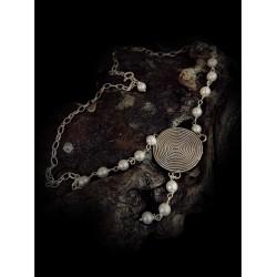 Necklace spiral N6