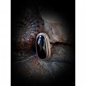 "Women's ""black onyx"" ring jewelry"