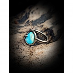 Ring - turquoise of India