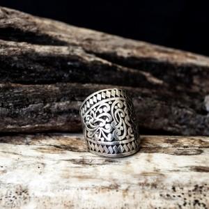 Silver (925o) Byzantine ring  jewelry