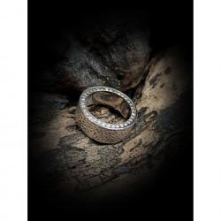 Ring - wedding zircons