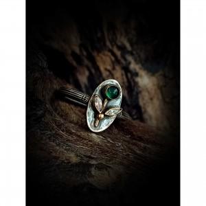 """Women's """"flower"""" ring jewelry"""