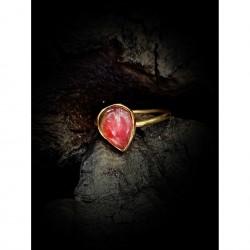 Gold ring - tourmaline