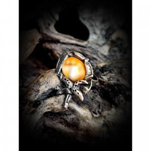 Women's lucky ring eye jewelry
