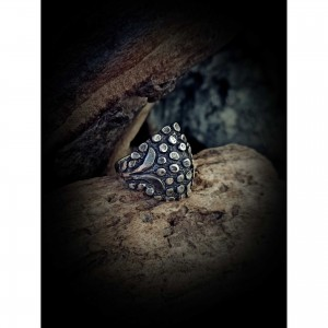 Women's ring with theme - hedgehog jewelry