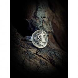 Alexander coin ring
