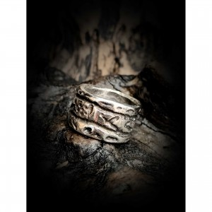 """Women's ring """"wide  ring"""" jewelry"""