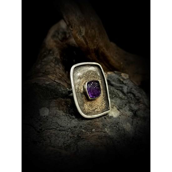 Ring amethyst N4