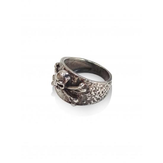 Male gothi bone ring