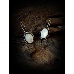 Agate - earrings