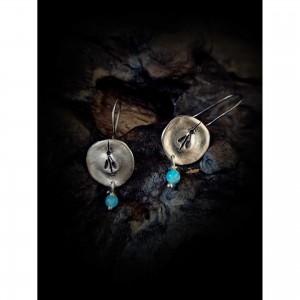 "Earrings Silver (925o)""mosquito"" jewelry"