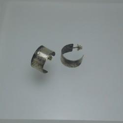 Earrings - wide ring N2
