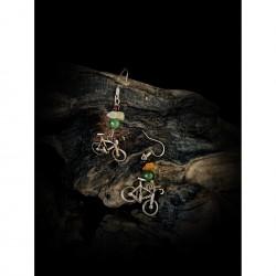 Bicycle - earrings