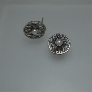"""Women's earrings """"clip lines"""" jewelry"""