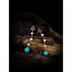 """Women's """"pyramid"""" earrings jewelry"""