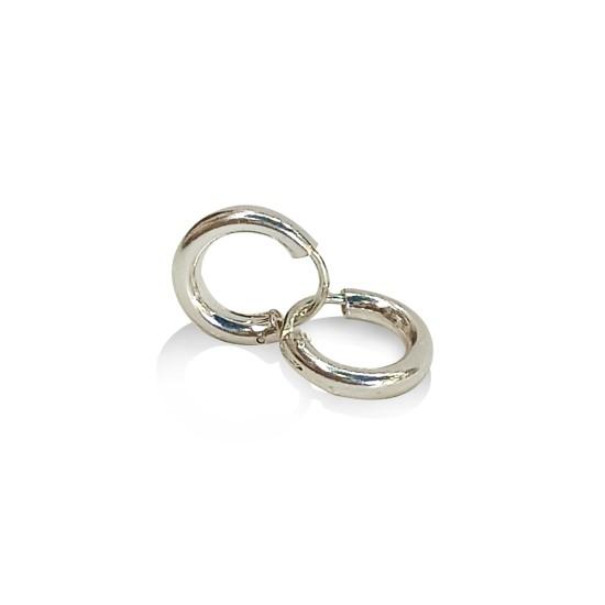 Earrings hoops 2.5 mm.