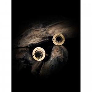 Handmade cufflinks with theme - black onyx - level men's gift